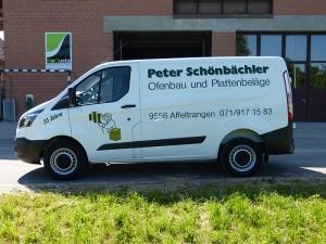 Fahrzeugbeschriftung Peter Schönbächler AG