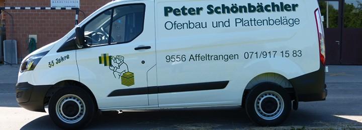 <h2><strong>Fahrzeugbeschriftung Peter Schönbächler AG</strong></h2>