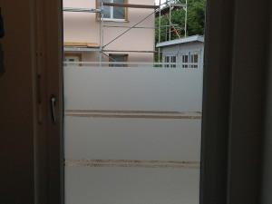 Glasdekorfolie Balkontüre
