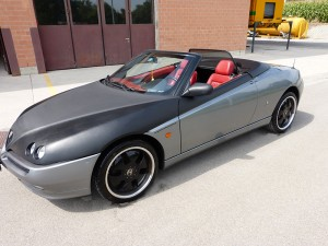 CarWrapping Alfa Romeo Spider