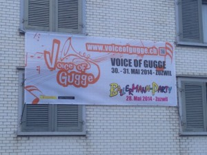 Voice of Gugge 2014 Mesh-Banner (350 x 150 cm)