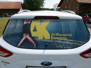 Fahrzeugbeschriftung ArtKeramik