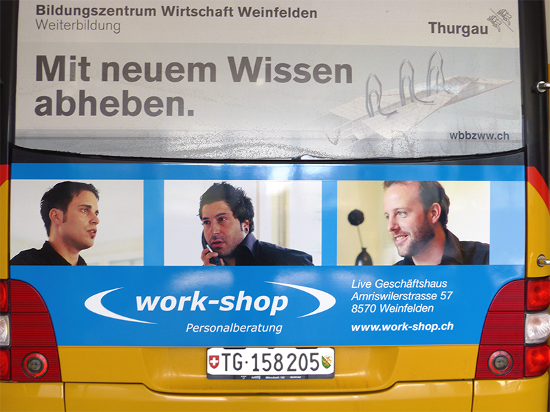MeGusta_Werbetechnik_Referenz_Postauto_workshop_weinfelden_03
