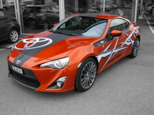 CarWrapping Toyota GT86 Turbo