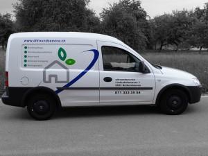 Fahrzeugbeschriftung allroundservice