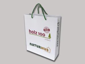 """Papiertaschen """"NATURHUS"""""""
