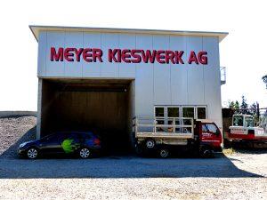 Fassade Meyer Kieswerk AG